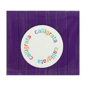 Полимерная глина Calligrata SH-22, 50 г, фиолетовая Ош