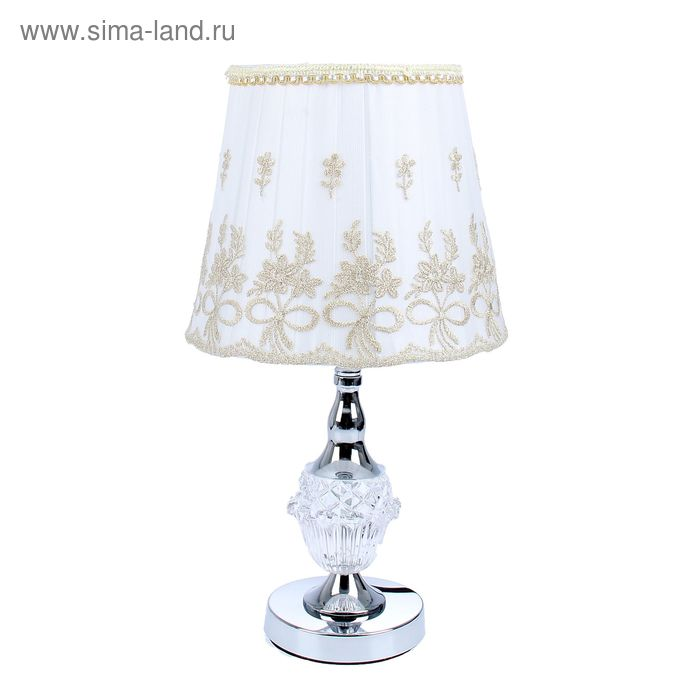 "Лампа настольная ""Аромат цветов"" с переключателем"
