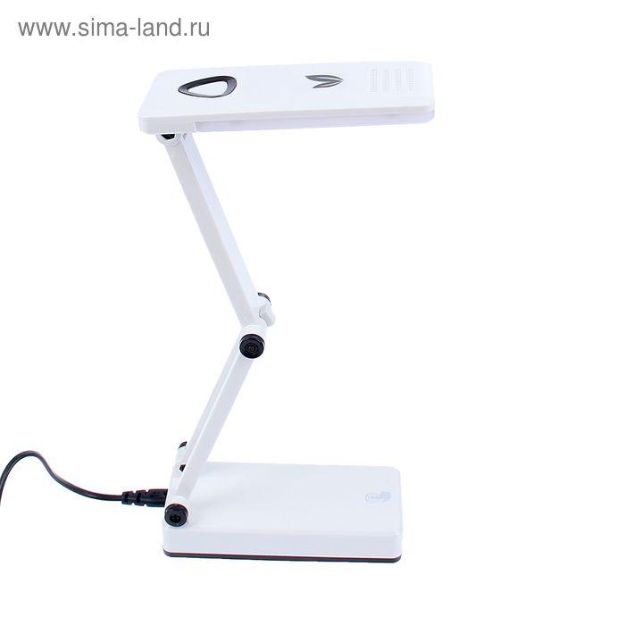 """Настольная светодиодная сенсорная USB-лампа с выкл. """"Техно"""" чёрная, 24 диода"""