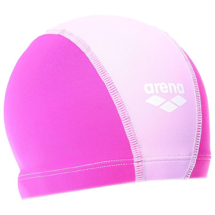 Шапочка для плавания детская ARENA Unix Jr, безразмерная, цвет ярко-розовый