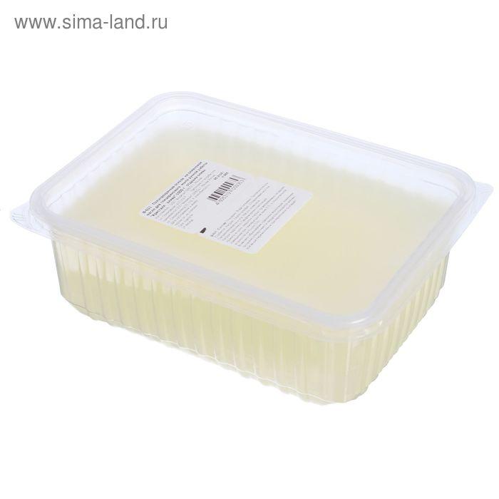 """Основа полупрозрачная на оливковом масле для глицеринового мыла """"Кристалл олива"""", отдушка олива, 1 кг"""