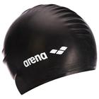 Шапочка для плавания ARENA Soft Latex, латекс, цвет чёрный