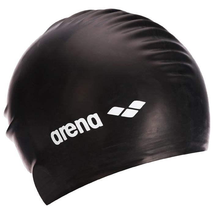 Шапочка для плавания ARENA Soft Latex, арт.9129420-060, латекс, цвет чёрный