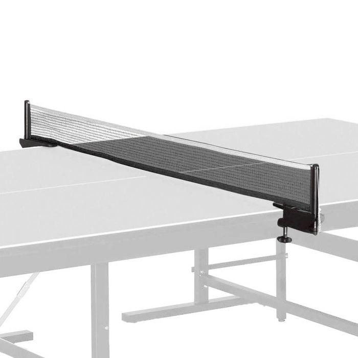 Сетка для наст. тенниса Donic Team Clip-On, арт.808302 в компл. с мет. стойками, черная