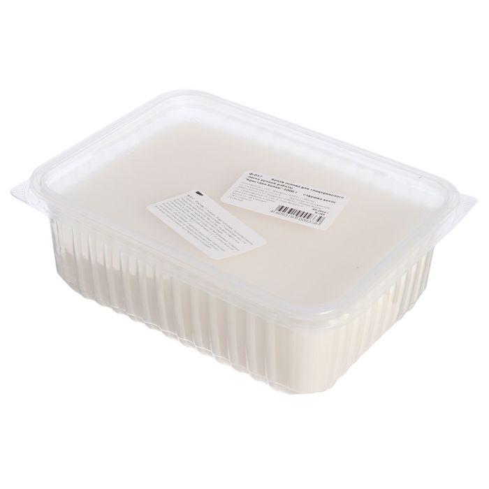 """Основа белая для глицеринового мыла ручной работы """"Кристалл белая"""", отдушка кокос, 1 кг"""