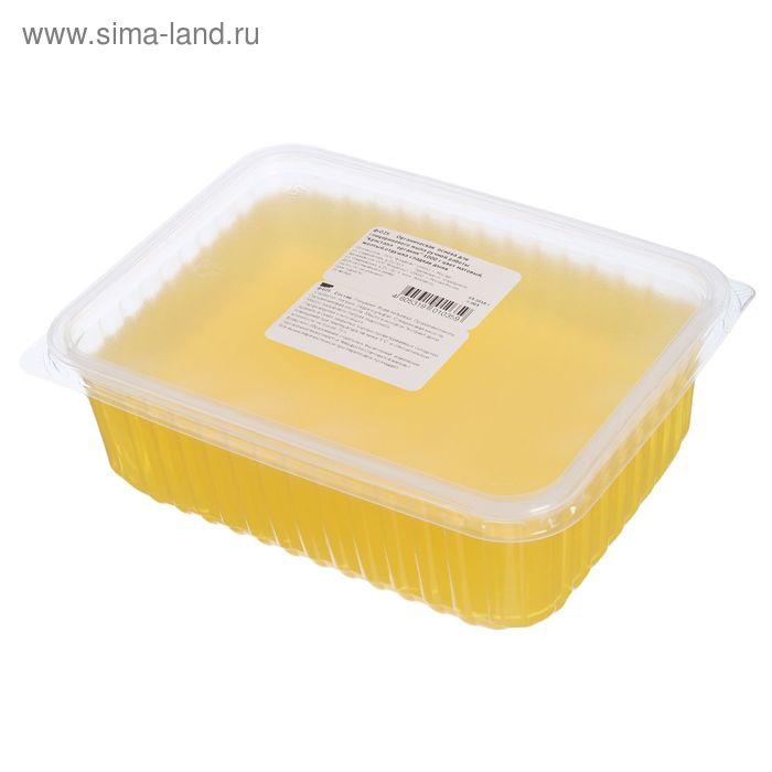 """Основа органическая для глицеринового мыла """"Кристалл органик"""", цвет матовый желтый, отдушка сладкая дыня, 1 кг"""