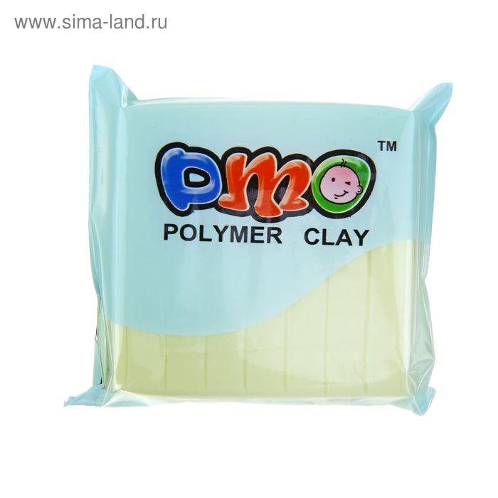 """Полимерная глина 50гр """"PMO"""" Люминесцентный(светится в темноте) Желтый SH-97"""