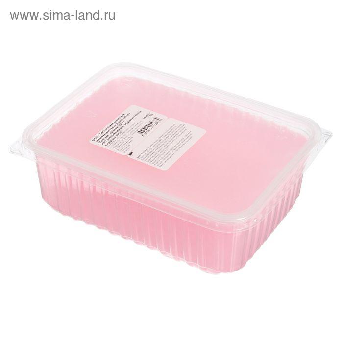"""Основа органическая для глицеринового мыла """"Кристалл органик"""", цвет розовый, отдушка парфюмерная с пудровой нотой, 1 кг"""