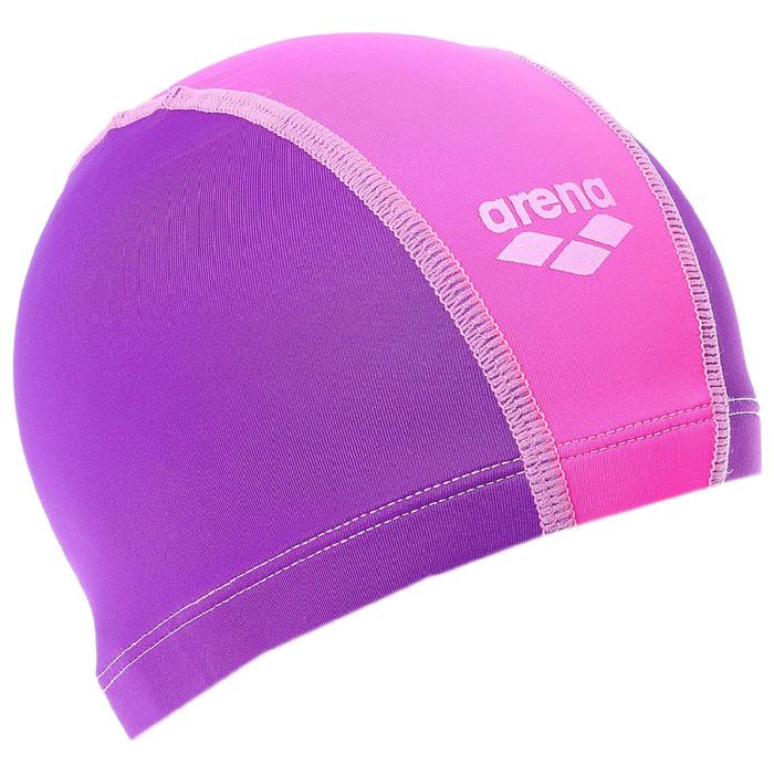 Шапочка для плавания детская ARENA Unix Jr, безразмерная, цвет розово-фиолетовый