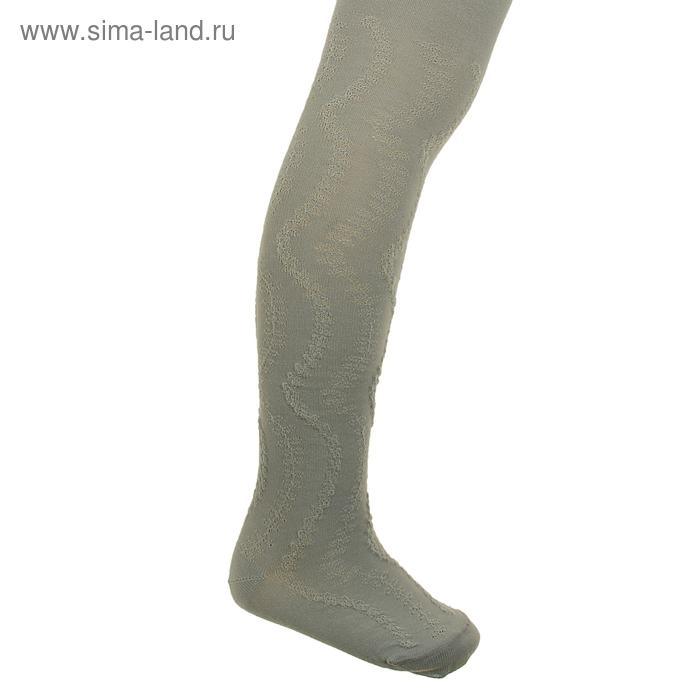 Колготки детские 2ФС73, цвет светло-серый, рост 80-86 см