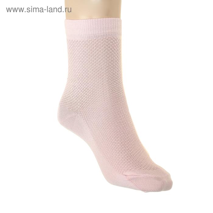Носки детские ЛС57, цвет светло-розовый, р-р 20-22
