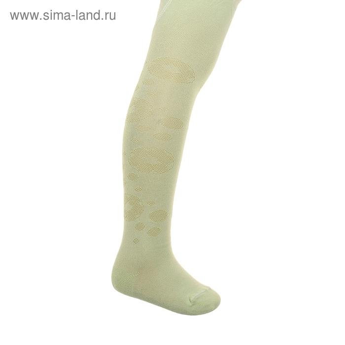 Колготки детские 2ФС73, цвет светло-салатовый, рост 86-92 см