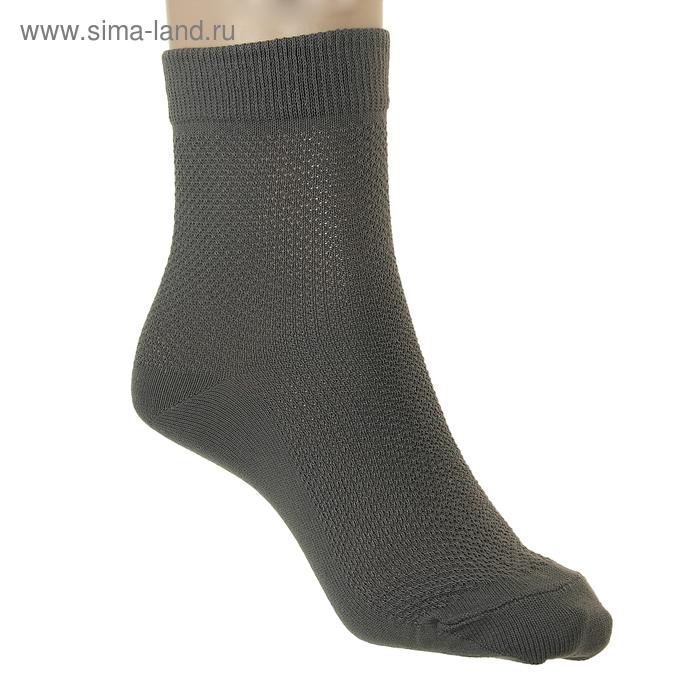 Носки детские ЛС57, цвет серый, р-р 20-22