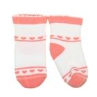 Носки детские плюшевые ПЛС112-2363, цвет белый, р-р 11-12