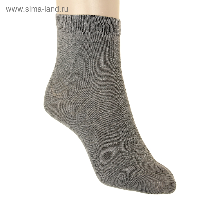 Носки детские АС151, цвет серый, р-р 22-24