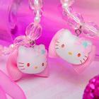 """Набор 2 предмета: бусы, браслет """"Китти"""", цвет розовый"""