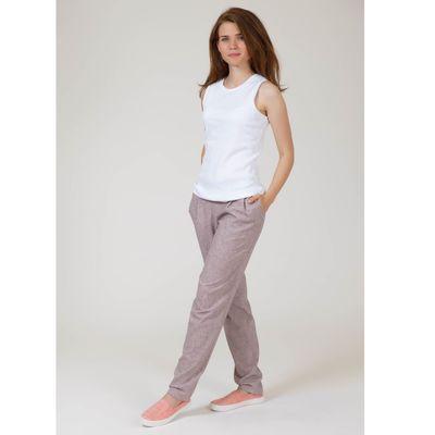 Блуза 4647б С+, размер 50, рост 164см, цвет белый