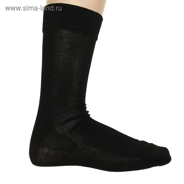 Носки мужские ФС38, цвет черный, р-р 29