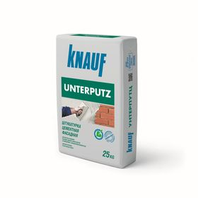Штукатурка цементная фасадная Unterputz, 25 кг