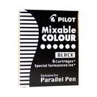 Картридж чернильный Pilot набор 6 штук для Parallel Pen (каллиграфия) черный IC-P3-S6