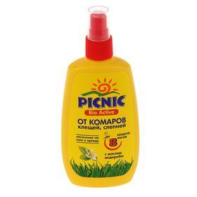 """Спрей репеллентный от комаров """"Picnic Bio Active"""", с маслом андиробы, 120 мл"""