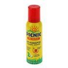 Аэрозоль от комаров и клещей Picnic Bio Active, 125 мл