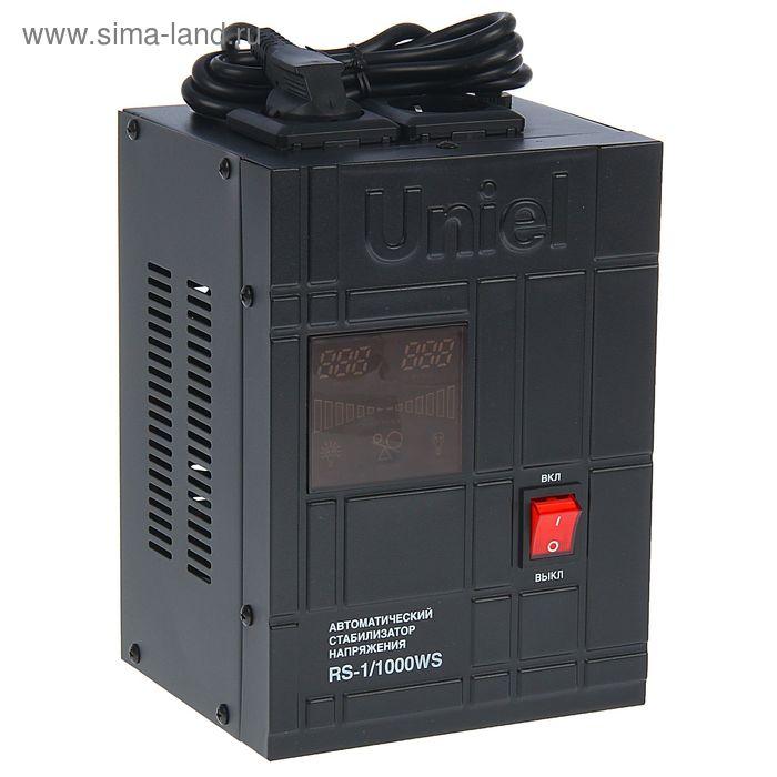 Стабилизатор Uniel RS-1/1000WS, релейный, однофазный, настенный, с гальв. развязкой, 1 кВА