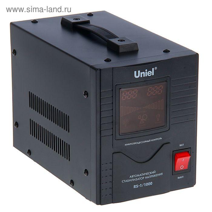Стабилизатор Uniel RS-1/1000, напольный, релейный, однофазный, 1 кВА