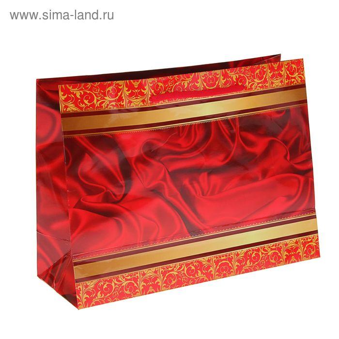 """Пакет подарочный """"Кармен"""" 24,5 x 32,5 x 12 см"""