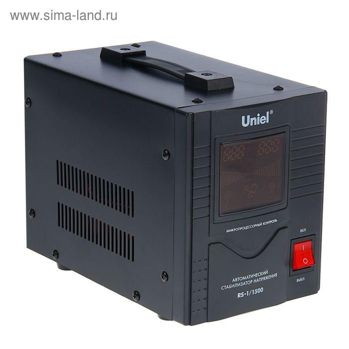Стабилизатор Uniel RS-1/1500, напольный, релейный, однофазный, 1.5 кВА