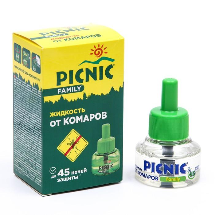 Жидкость от комаров Picnic Family  45 ночей, 30 мл