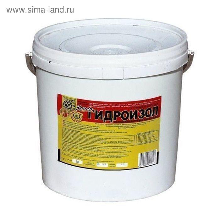Полимерно-битумная композиция Гидроизол, 5л