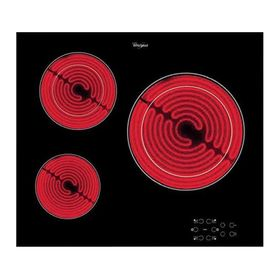 Варочная поверхность Whirlpool AKT 8030/NE, электрическая, 3 конфорки, чёрная