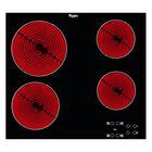 Варочная поверхность Whirlpool AKT 8090/NE, электрическая, 4 конфорки, черный