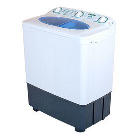 """Стиральная машина """"Славда"""" WS-60 PET, класс А, 1350 об/мин, 6 кг, бело-синяя"""