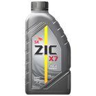Моторное масло ZIC X7 10W-40, LS синтетическое, 1 л
