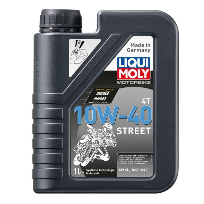 Моторное масло для мотоциклов Liqui Moly НС Motorrad 4T 10W-40 SL/MA-2, 1 л
