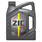 Масло моторное ZIC X7 10W-40, Diesel CI-4, 4 л