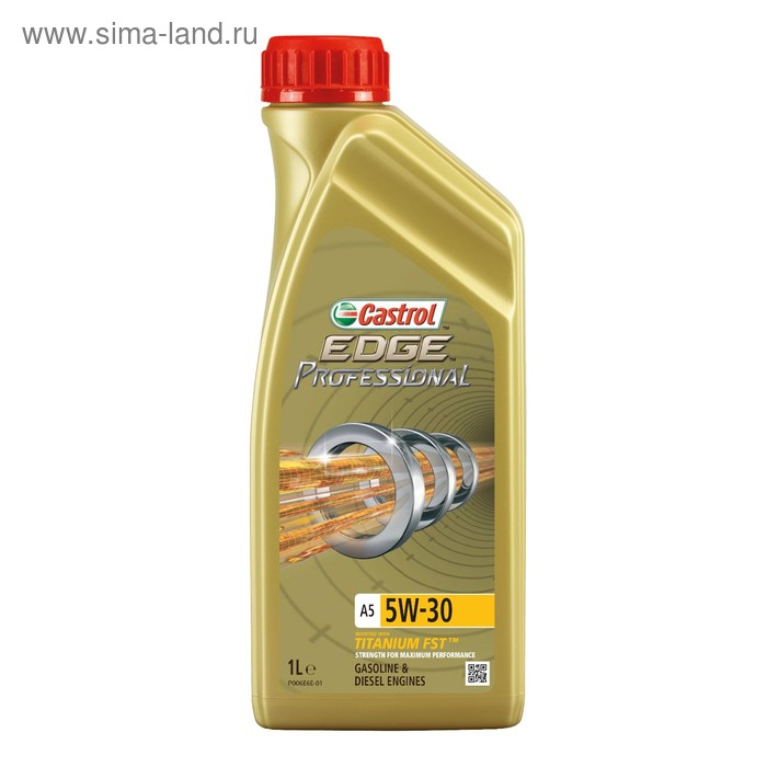 Моторное масло Castrol EDGE Professional A5 5W-30, 1 л