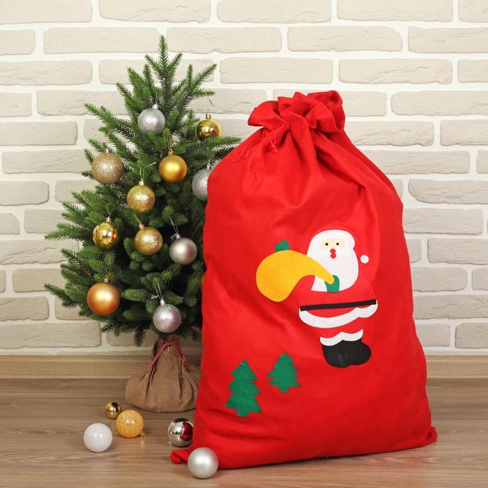 """Новогодний мешок """"Дедушка Мороз"""""""