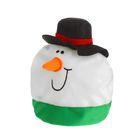"""Карнавальная шляпа """"Снеговик в шапке"""""""