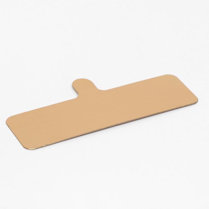 Подложка с держателем 13 х 4 см, 0,8 мм