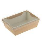 Упаковка, салатник с прозрачной крышкой, 14,5 х 9,5 х 4, 5 см, 0,4 л