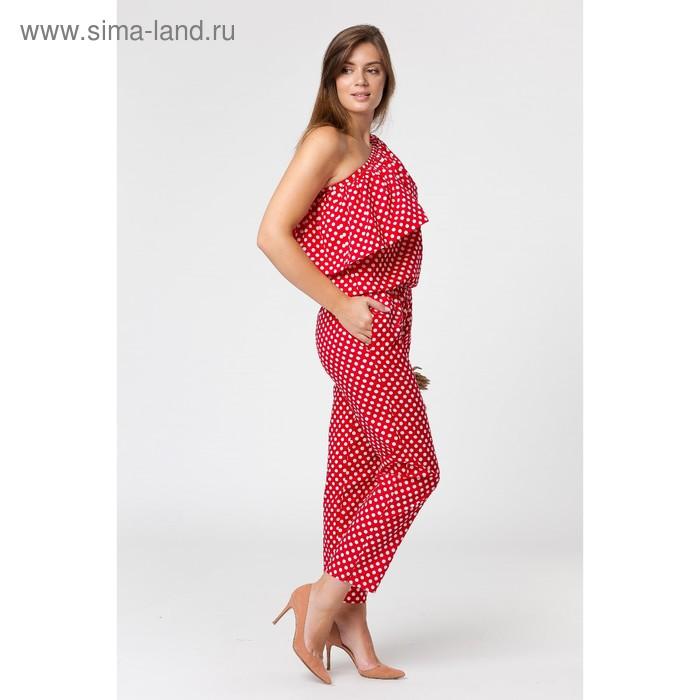 Костюм женский SbS 74006  цвет красный, размер L (46), рост 168