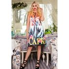 Платье женское SbS 71185  цвет Капри, размер L (46), рост 168
