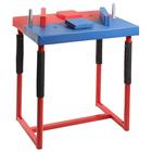 Стол для армрестлинга разборный, сине-красный