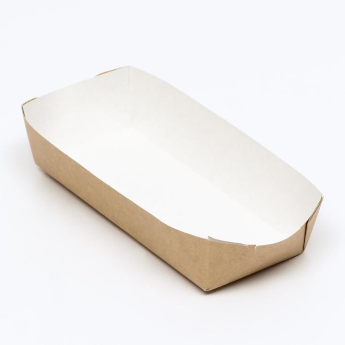 Упаковка для хот-догов, картофеля фри 16,5 х 7 х 4 см