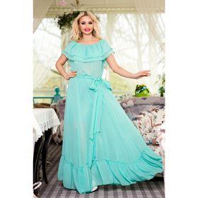 Платье женское SbS 71181  цвет мята, размер S-M (42-44), рост 168