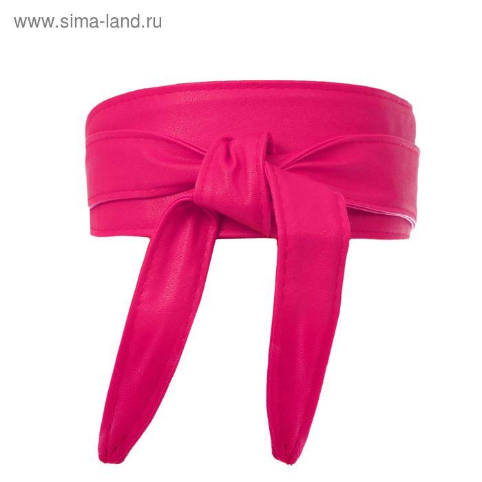 Пояс-кушак, ширина - 7см, розовый
