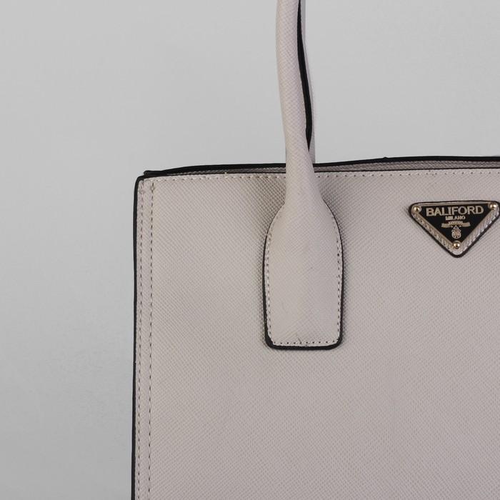 Сумка женская, отдел на молнии, с расширением, наружный карман, цвет серый